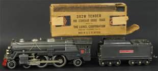 LIONEL 392E WITH 292W TENDER