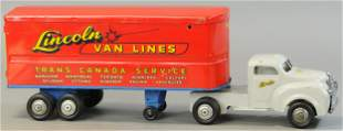 LINCOLN VAN LINES MOVING TRUCK