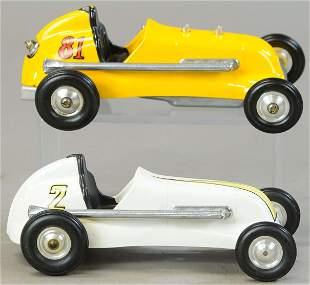 TWO THIMBLE DROME RACERS