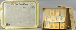 CHEIN NY TIMES TRAY W/ PARTIAL CASE TRICK