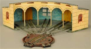 MARKLIN ROUNDHOUSE WITH TURNTABLE
