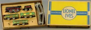 BOXED LIONEL IVES TRANSITION SET