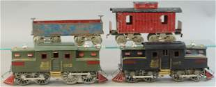 LIONEL 1912 LOCOMOTIVES AND EARLY CARS