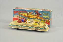 2954: MARX DISNEYLAND PARADE ROADSTER IN ORIGINAL BOX