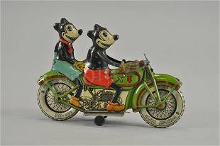 2979: TIPPCO MICKEY AND MINNIE MOUSE MOTORCYCLE