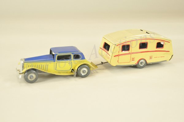 3124: METTOY COUPE AND TRAILER