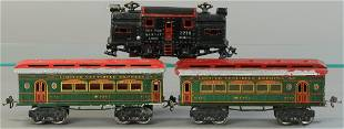 IVES 3218 LOCO AND CARS