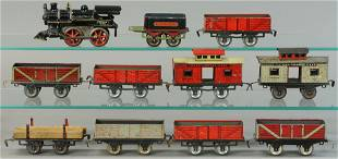 IVES NO. 4 AND EARLY FREIGHT CARS