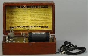 VOLTAMP BATTERY NO. 6 ELECTRICAL NOVELTY DEVICE