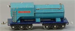 LIONEL 400E BLUE COMET TENDER