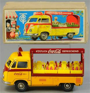 BOXED TIPPCO VW COCA COLA DELIVERY TRUCK