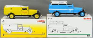TWO MARKLIN BOXED AUTOS