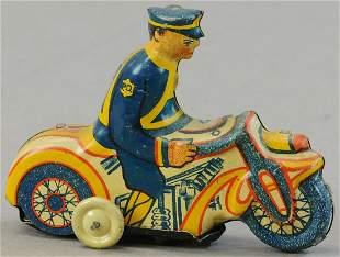 MARX TRICKY POLICE MOTORCYCLE
