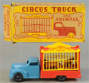 BOXED MARX CIRCUS TRUCK