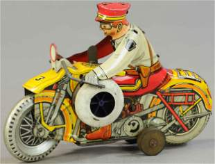 MARX ROOKIE COP MOTORCYCLE