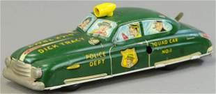 MARX DICK TRACY SQUAD CAR NO. 1