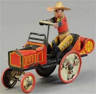 MARX WHOOPEE COWBOY CAR