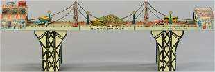 MARX BUSY BRIDGE TOY