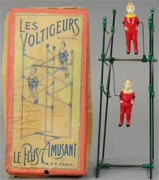 BOXED FRENCH ACROBATS BALANCE TOY