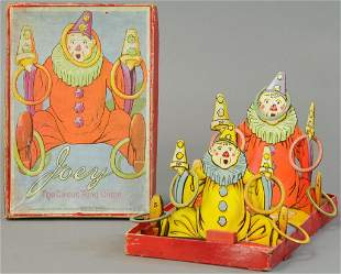 BOXED JOEY THE CIRCUS RING GAME