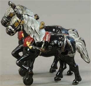 TEAM OF TWO KENTON WORK HORSES