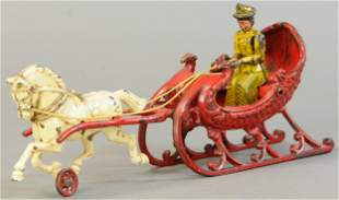 HUBLEY HORSE DRAWN SLEIGH