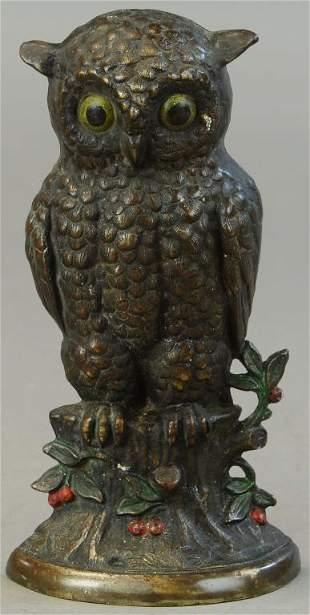 HUBLEY OWL DOORSTOP