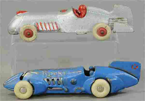 TWO HUBLEY TAILFIN RACERS