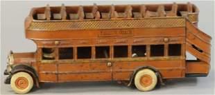 ARCADE YELLOW COACH BUS