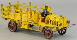LARGE HUBLEY FIVE TON STAKE TRUCK