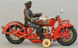 HUBLEY 4-CYLINDER INDIAN POLICEMAN MOTORCYCLE