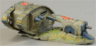 TANK AND CANNON MECHANICAL BANK