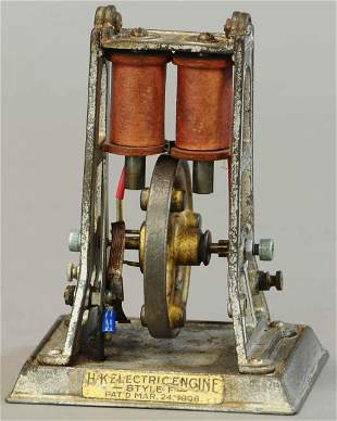 CAST IRON ELECTRIC ENGINE