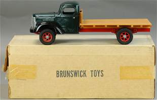 BOXED BRUNSWICK TOYS DELIVERY TRUCK