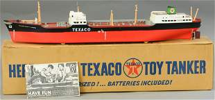 BOXED WE-MAC CORP. TEXACO SHIP