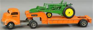 SMITH MILLER MACHINERY HAULER W/ TRACTOR