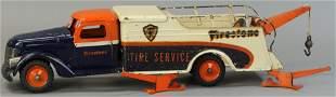 BUDDY L FIRESTONE TIRE SERVICE WRECKER