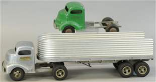 SMITH MILLER TRAILER W/ TWO CABS