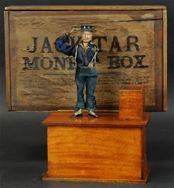 BOXED JACK TAR MONEY BOX