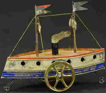 EARLY FRENCH STEAMSHIP
