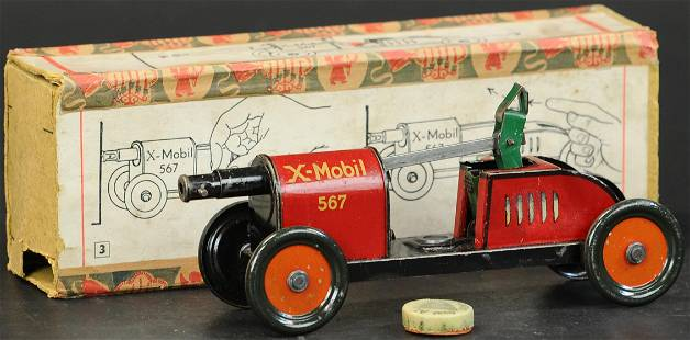 BOXED HESS X-MOBIL CANNON CAR