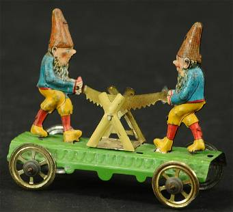 MEIER GNOMES SAWING PENNY TOY