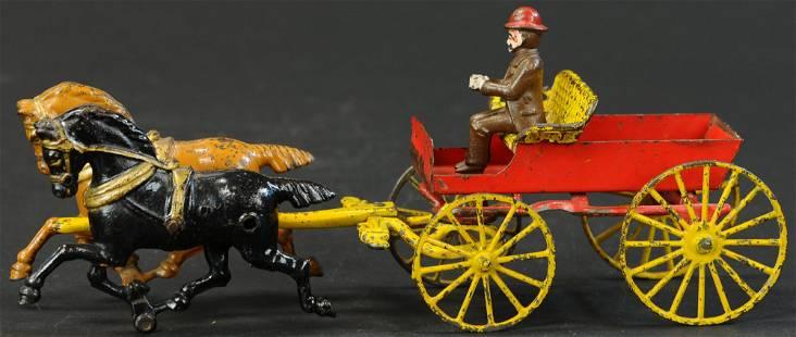 HUBLEY HORSE DRAWN BUCKBOARD