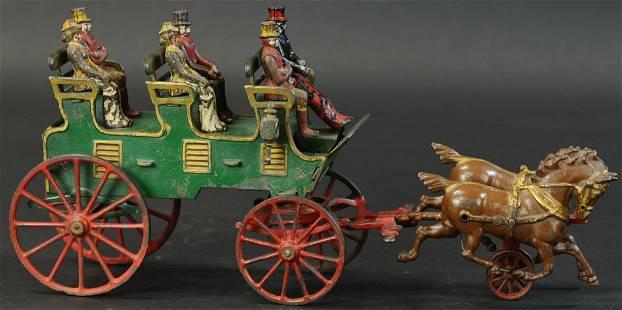 HUBLEY GREEN THREE SEAT BRAKE