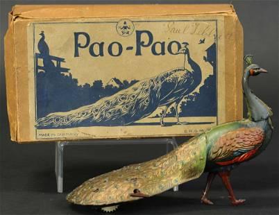 HANS EBERL BOXED EBO PAO-PAO PEACOCK