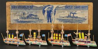 BOXED SET OF FOUR BLISS BOATS