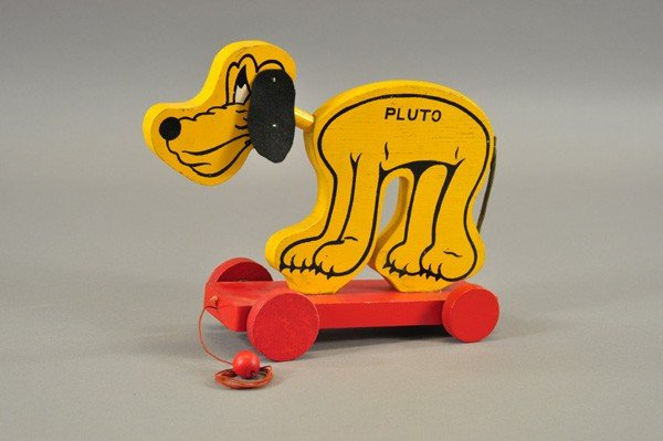 3723: PLUTO PULL TOY