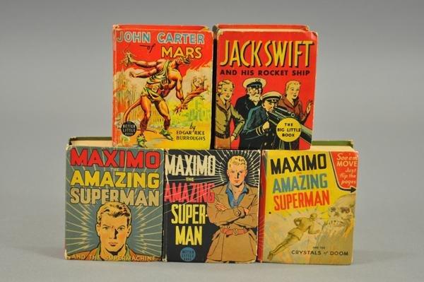 3732: MAXIMO, JOHN CARTER AND JACK SWIFT BIG LITTLE BOO