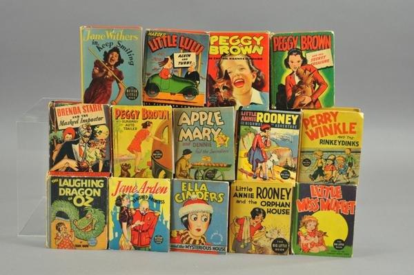 3737: FOURTEEN BIG LITTLE BOOKS