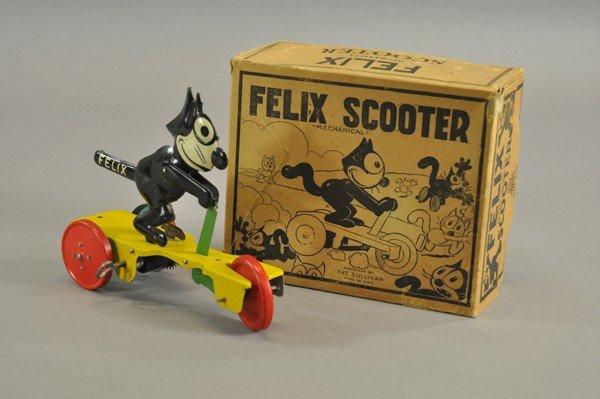 3790: FELIX SCOOTER IN ORIGINAL BOX